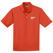 water joe orange polo