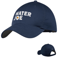 water joe navy baseball cap
