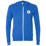 water joe blue zip up