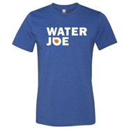 water joe blue tshirt