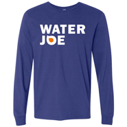 water joe blue longsleeve shirt