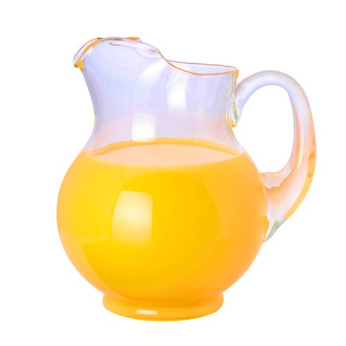 pitcher of orange juice