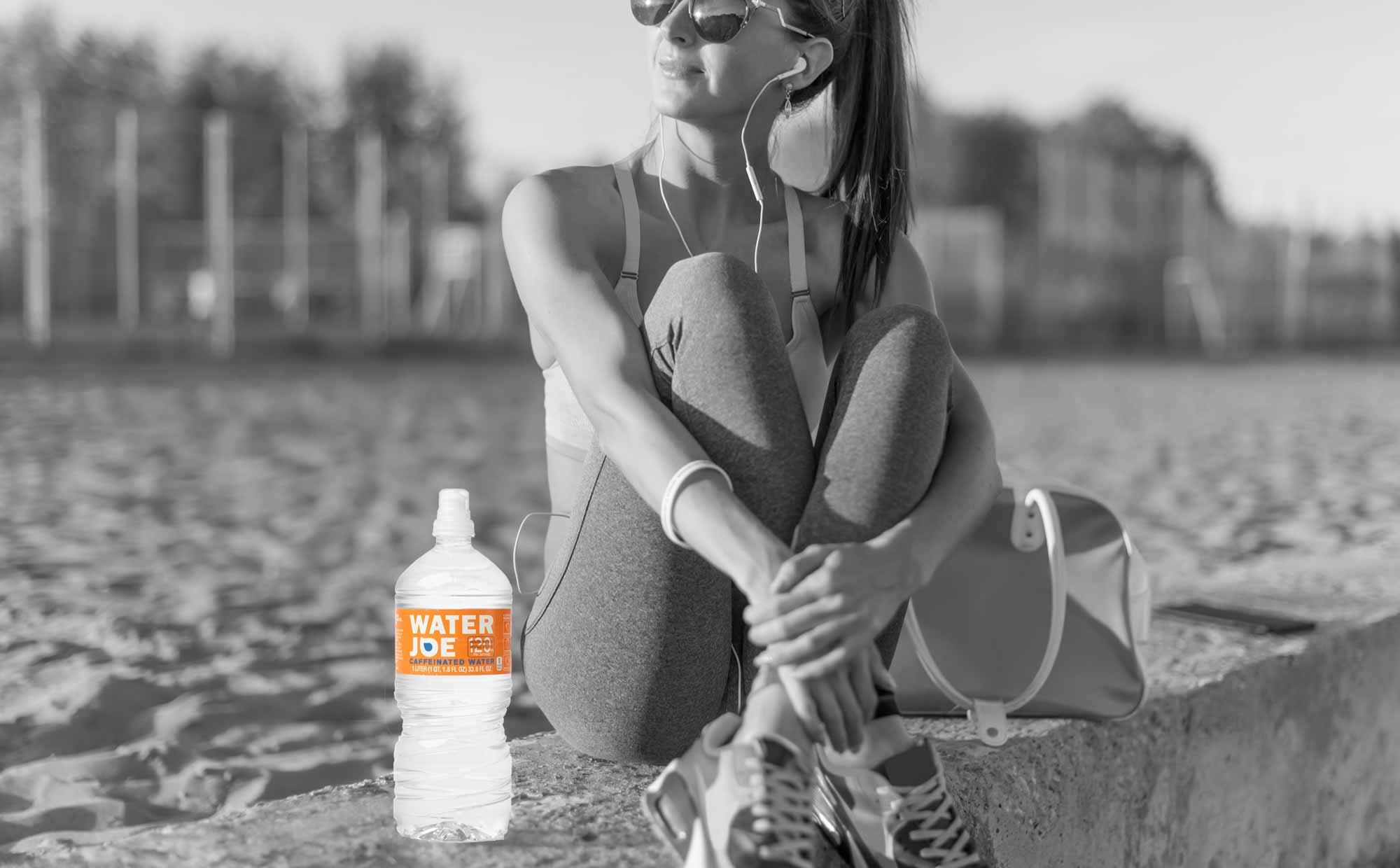 woman with water joe