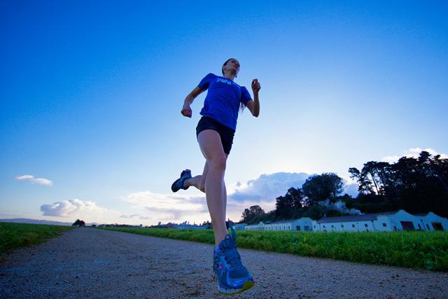 Sarah Hallas Running