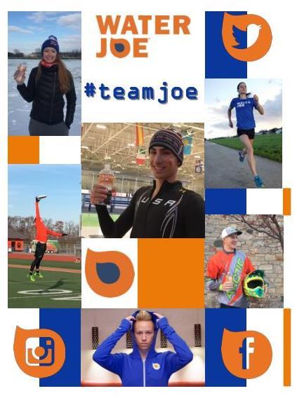 Water Joe #teamjoe photo collage
