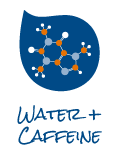 Water + caffeine icon